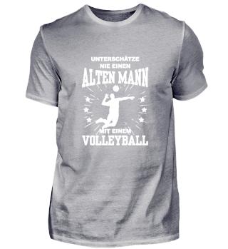 Volleyball - Unterschätze Mann Geschenk