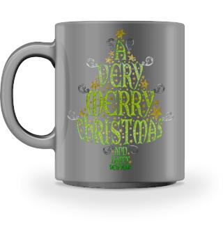 A VERY MERRY CHRISTMAS Tree VIa