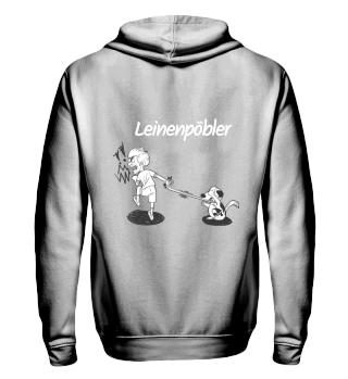 Leinenpöbler Hoodie&Zip, Backprint, w