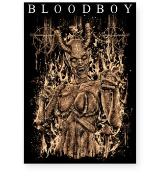 BLOODBOY SUCCUBUS POSTER