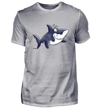 Lustiger Haifisch - Hai - Fisch - Meer
