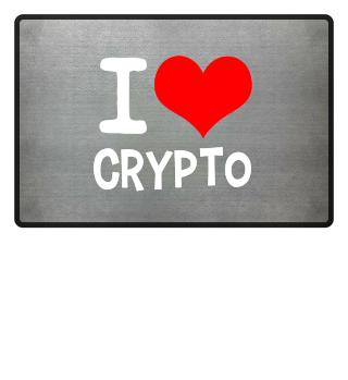 I Love Crypto (white)