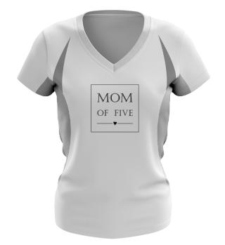 ♥ Minimalism Text Box - Mom Of Five 1