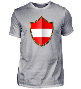 Österreich-Austria Wappen Flagge 016