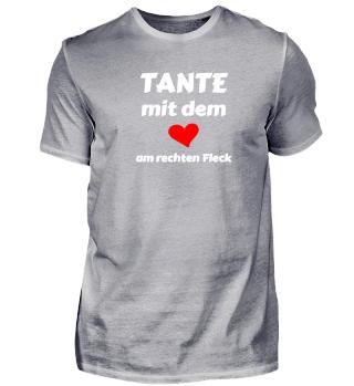 Tante Herz Fleck - Geschenk