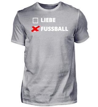 Liebe oder Fußball?