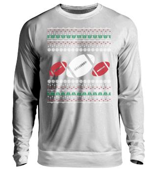 Football Ugly Xmas Sweater Geschenk