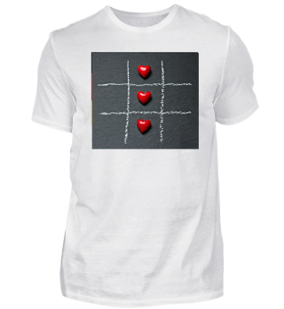 Herz Herzen Spiel Tic Tac Toe Liebe