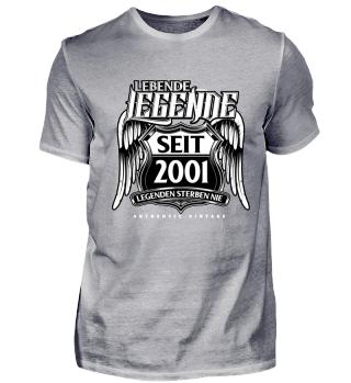 Lebende Legende seit 2001