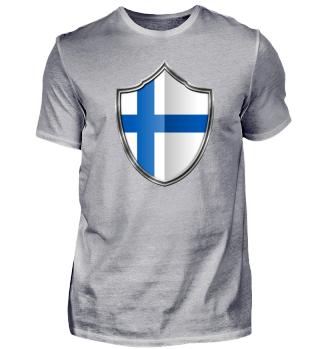 Finnland-Finland Wappen Flagge 015