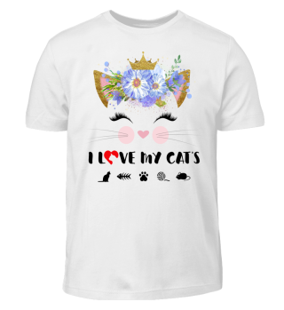 CAT-FACE - I LOVE MY CATS #4.1
