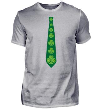 Shamrock Tie St. Patrick's Day Clover