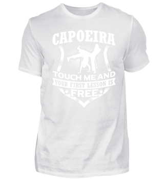 Touch me and - Capoeira!!!!