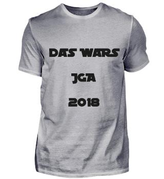 JGA Hochzeit, Das Wars 2018
