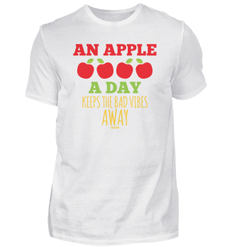 An Apple A Day Keeps The Bad Vibes Away