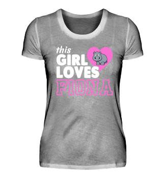 This Girl Loves Fiona Gift