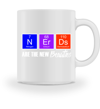 Chemical Elements - Beauty NERDS - white