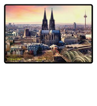 Fußmatte Köln