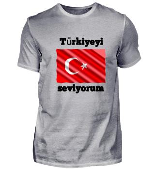 Türkiyeyi seviyorum, türkei