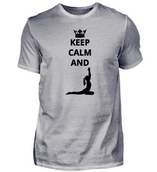 geschenk keep calm and ballet yoga (2)
