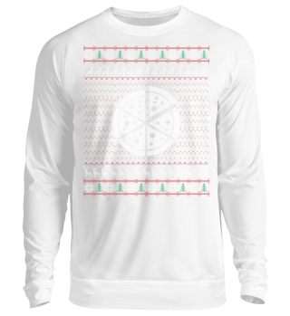 Pizza Ugly Christmas Sweater Geschenk