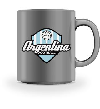 Football Crest Of Argentina