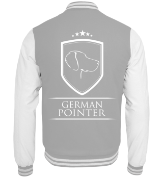 Collegejacke GERMAN POINTER Wappen Hund