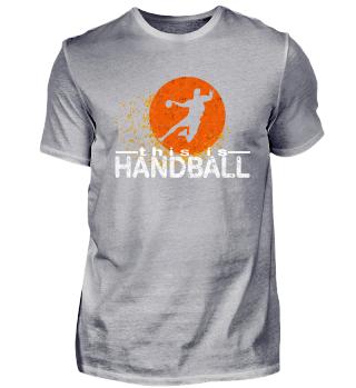 Handball Player Shirt Gift idea