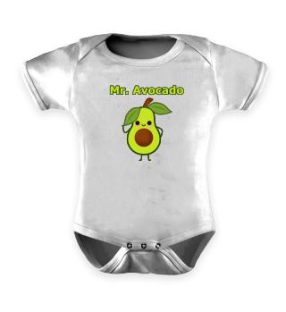 Mr Avocado - Kids Motive - Gift Idea