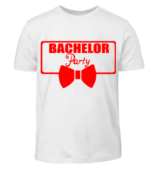 GIFT- BACHELOR PARTY TIE RED