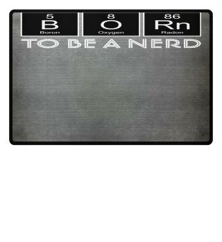 ★ Periodic Elements - BORN Nerd II