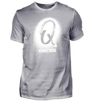 "Q-Shirt ""#wwg1wga"""