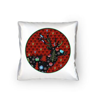 ★ Modern Christmas DEER patch II