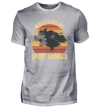 Wolves Are My Spirit Animals