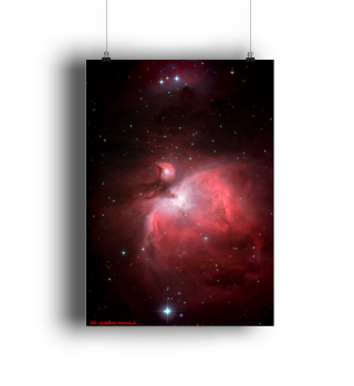 Poster A1 Orionnebel