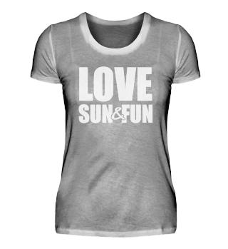 ☛ Love - Sun - Fun #1W