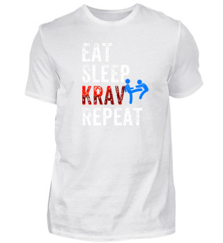 Eat, sleep, Krav, repeat