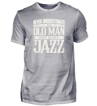 Jazz Musik Saxofon Opa Papa