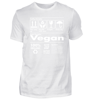 Product Description Tee - Vegan Edition