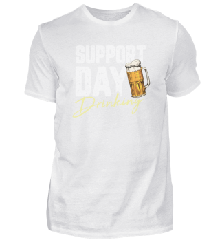 Support Day Drinking Motiv für Bräutigam