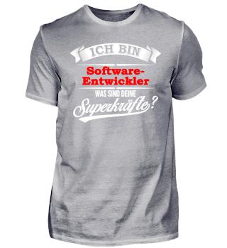 Softwareentwickler Entwickler Superkraft