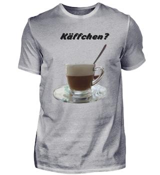 Kaffee in glastasse