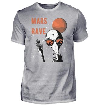 Alien Mars Rave rot