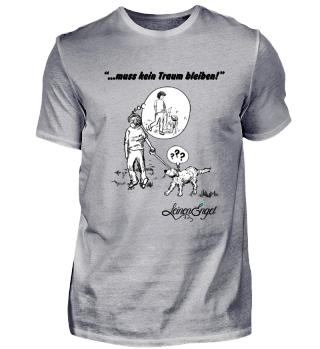 Herren T Shirts - Schwarze Schrift