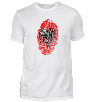 Albania Fingerprint