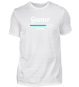 GAMER LOADING - FANCY T-SHIRTS FOR GAME