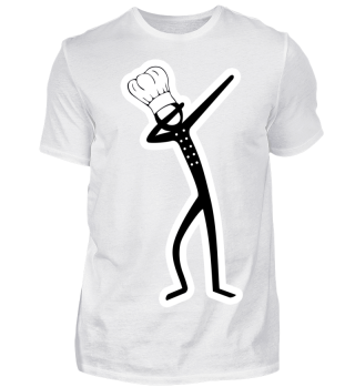 ★ Dabbing Stick Figure - Chef Cook
