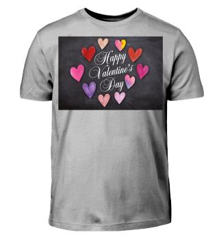 Valentinstag T-Shirt - Geschenkidee