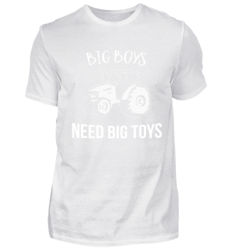 Tractor Big Boys Need Big Toys Gift