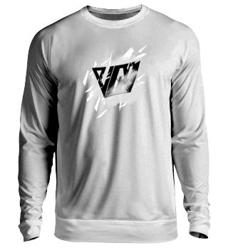 NeruxVace Sweatshirt Logo weiß